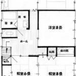2階住宅間取り(間取)