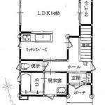 1階平面図(間取)