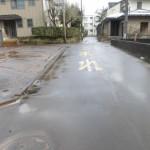 南側市道4m(消雪道路)(周辺)